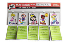 Activity & Routine Charts | Pritt Create Play Projects